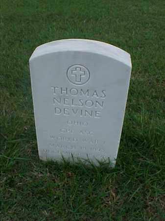 DEVINE (VETERAN WWI), THOMAS NELSON - Pulaski County, Arkansas | THOMAS NELSON DEVINE (VETERAN WWI) - Arkansas Gravestone Photos