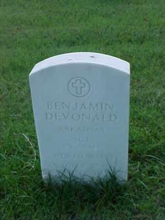 DEVONALD (VETERAN WWI), BENJAMIN - Pulaski County, Arkansas | BENJAMIN DEVONALD (VETERAN WWI) - Arkansas Gravestone Photos