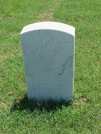 DEW (VETERAN WWII), JOSEPH H - Pulaski County, Arkansas   JOSEPH H DEW (VETERAN WWII) - Arkansas Gravestone Photos