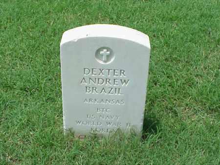 BRAZIL (VETERAN 2 WARS), DEXTER ANDREW - Pulaski County, Arkansas | DEXTER ANDREW BRAZIL (VETERAN 2 WARS) - Arkansas Gravestone Photos