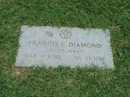 DIAMOND (VETERAN), FRANCIS C - Pulaski County, Arkansas | FRANCIS C DIAMOND (VETERAN) - Arkansas Gravestone Photos