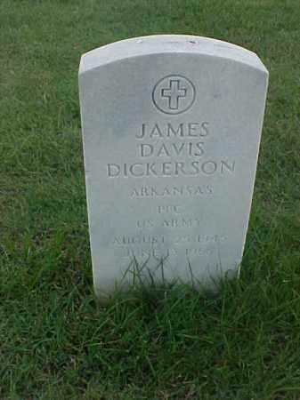 DICKERSON (VETERAN), JAMES DAVIS - Pulaski County, Arkansas | JAMES DAVIS DICKERSON (VETERAN) - Arkansas Gravestone Photos