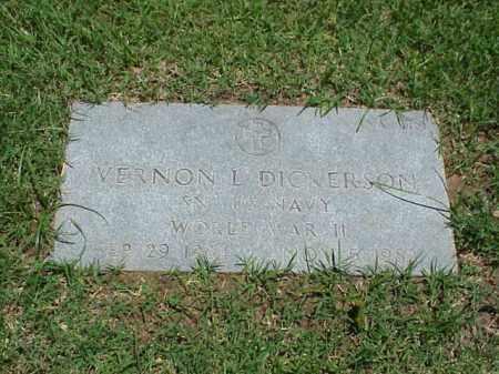 DICKERSON (VETERAN WWII), VERNON L - Pulaski County, Arkansas   VERNON L DICKERSON (VETERAN WWII) - Arkansas Gravestone Photos