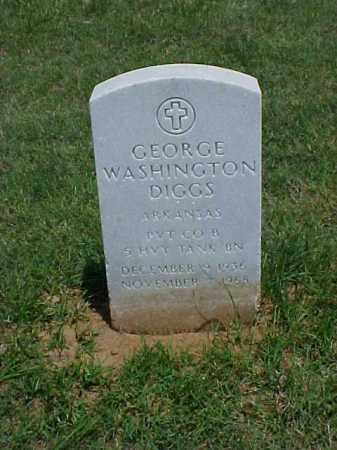 DIGGS (VETERAN KOR), GEORGE WASHINGTON - Pulaski County, Arkansas | GEORGE WASHINGTON DIGGS (VETERAN KOR) - Arkansas Gravestone Photos