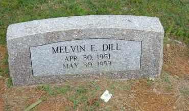 DILL, MELVIN - Pulaski County, Arkansas | MELVIN DILL - Arkansas Gravestone Photos