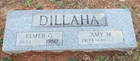 DILLAHA, ELMER O - Pulaski County, Arkansas | ELMER O DILLAHA - Arkansas Gravestone Photos