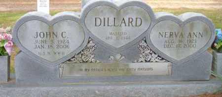 DILLARD, NERVA ANN - Pulaski County, Arkansas | NERVA ANN DILLARD - Arkansas Gravestone Photos