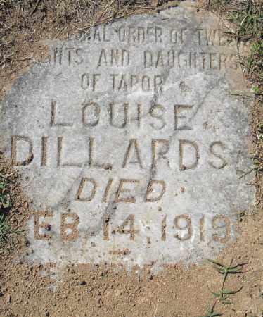 DILLARDS, LOUISE - Pulaski County, Arkansas   LOUISE DILLARDS - Arkansas Gravestone Photos