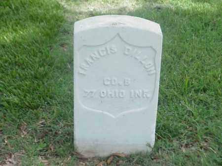 DILLON (VETERAN UNION), FRANCIS - Pulaski County, Arkansas | FRANCIS DILLON (VETERAN UNION) - Arkansas Gravestone Photos