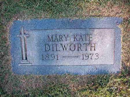 DILWORTH, MARY KATE - Pulaski County, Arkansas | MARY KATE DILWORTH - Arkansas Gravestone Photos