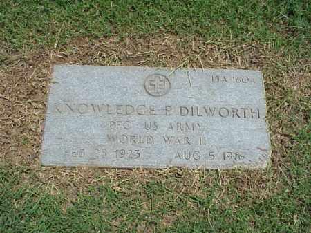 DILWORTH (VETERAN WWII), KNOWLEDGE E - Pulaski County, Arkansas | KNOWLEDGE E DILWORTH (VETERAN WWII) - Arkansas Gravestone Photos