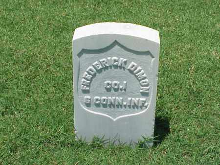 DIMON (VETERAN UNION), FREDERICK - Pulaski County, Arkansas | FREDERICK DIMON (VETERAN UNION) - Arkansas Gravestone Photos