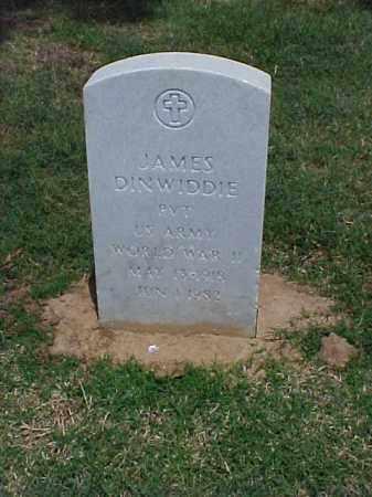 DINWIDDIE (VETERAN WWII), JAMES - Pulaski County, Arkansas | JAMES DINWIDDIE (VETERAN WWII) - Arkansas Gravestone Photos