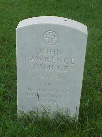 DISMUKE (VETERAN 2 WARS), JOHN LAWRENCE - Pulaski County, Arkansas | JOHN LAWRENCE DISMUKE (VETERAN 2 WARS) - Arkansas Gravestone Photos