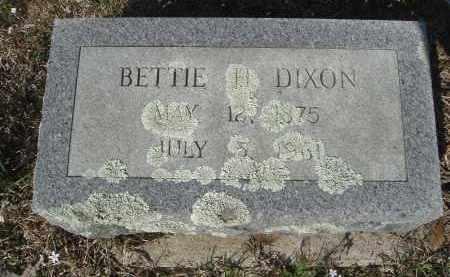 DIXON, ELIZABETH  HOLLAND - Pulaski County, Arkansas | ELIZABETH  HOLLAND DIXON - Arkansas Gravestone Photos