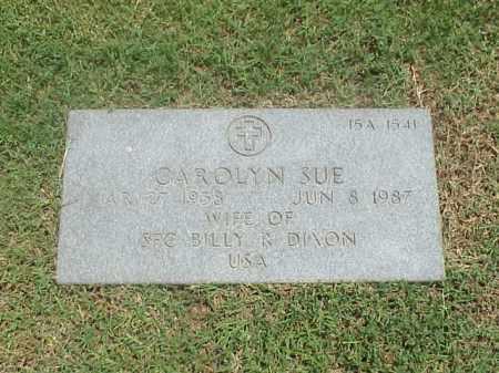 DIXON, CAROLYN SUE - Pulaski County, Arkansas   CAROLYN SUE DIXON - Arkansas Gravestone Photos