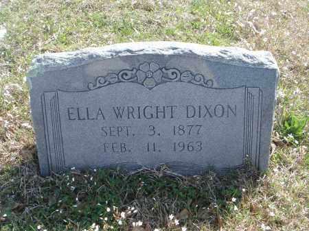DIXON, ELLA - Pulaski County, Arkansas   ELLA DIXON - Arkansas Gravestone Photos