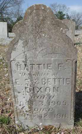 DIXON, HATTIE F - Pulaski County, Arkansas | HATTIE F DIXON - Arkansas Gravestone Photos