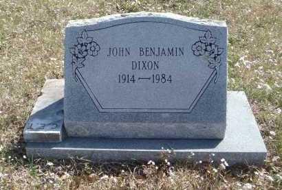 DIXON, JOHN BENJAMIN - Pulaski County, Arkansas   JOHN BENJAMIN DIXON - Arkansas Gravestone Photos