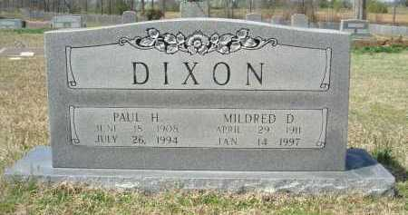DIXON, PAUL HARDING - Pulaski County, Arkansas | PAUL HARDING DIXON - Arkansas Gravestone Photos