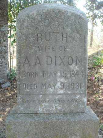 DIXON, RUTH CAROLINE - Pulaski County, Arkansas | RUTH CAROLINE DIXON - Arkansas Gravestone Photos