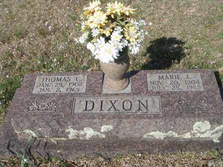 "DIXON, WILHELMINA ""MARIE"" ILLING - Pulaski County, Arkansas | WILHELMINA ""MARIE"" ILLING DIXON - Arkansas Gravestone Photos"