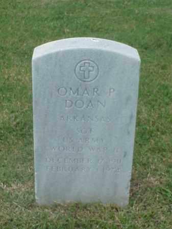 DOAN (VETERAN WWII), OMAR P - Pulaski County, Arkansas   OMAR P DOAN (VETERAN WWII) - Arkansas Gravestone Photos