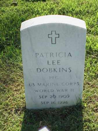 DOBKINS (VETERAN WWII), PATRICIA LEE - Pulaski County, Arkansas | PATRICIA LEE DOBKINS (VETERAN WWII) - Arkansas Gravestone Photos