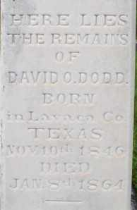 DODD, DAVID OWEN (CLOSEUP 2) - Pulaski County, Arkansas | DAVID OWEN (CLOSEUP 2) DODD - Arkansas Gravestone Photos