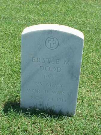 DODD (VETERAN WWII), ERSTLE M - Pulaski County, Arkansas | ERSTLE M DODD (VETERAN WWII) - Arkansas Gravestone Photos