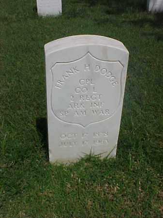 DODGE (VETERAN SAW), FRANK H - Pulaski County, Arkansas | FRANK H DODGE (VETERAN SAW) - Arkansas Gravestone Photos