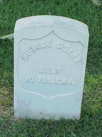 DOERR (VETERAN UNION), GEORGE - Pulaski County, Arkansas   GEORGE DOERR (VETERAN UNION) - Arkansas Gravestone Photos