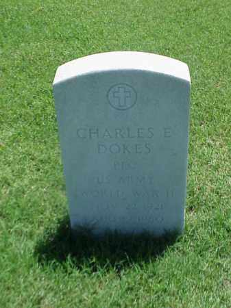 DOKES (VETERAN WWII), CHARLES E - Pulaski County, Arkansas | CHARLES E DOKES (VETERAN WWII) - Arkansas Gravestone Photos