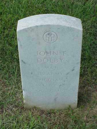 DOLBY (VETERAN VIET), JOHN F - Pulaski County, Arkansas   JOHN F DOLBY (VETERAN VIET) - Arkansas Gravestone Photos