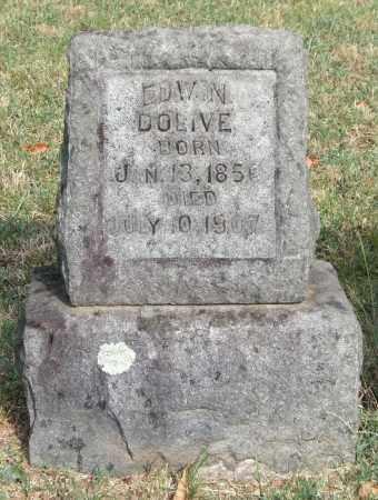 DOLIVE, EDWIN - Pulaski County, Arkansas   EDWIN DOLIVE - Arkansas Gravestone Photos