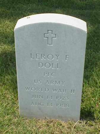 DOLL (VETERAN WWII), LEROY F - Pulaski County, Arkansas   LEROY F DOLL (VETERAN WWII) - Arkansas Gravestone Photos