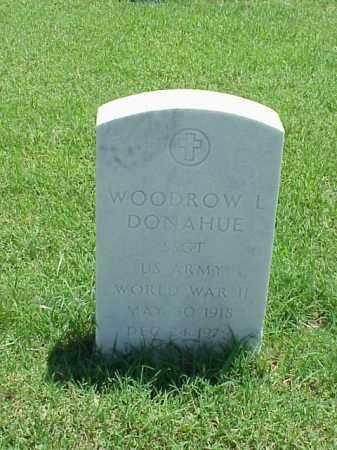 DONAHUE (VETERAN WWII), WOODROW L - Pulaski County, Arkansas   WOODROW L DONAHUE (VETERAN WWII) - Arkansas Gravestone Photos