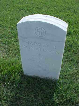 DONALDSON (VETERAN WWII), HARVEY R - Pulaski County, Arkansas   HARVEY R DONALDSON (VETERAN WWII) - Arkansas Gravestone Photos
