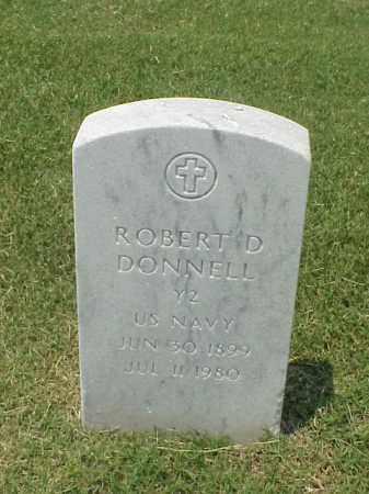 DONNELL (VETERAN), ROBERT D - Pulaski County, Arkansas | ROBERT D DONNELL (VETERAN) - Arkansas Gravestone Photos