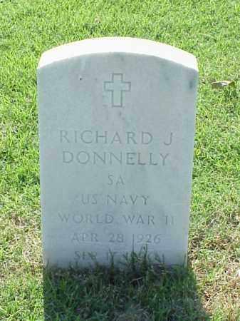 DONNELLY (VETERAN WWII), RICHARD J - Pulaski County, Arkansas   RICHARD J DONNELLY (VETERAN WWII) - Arkansas Gravestone Photos