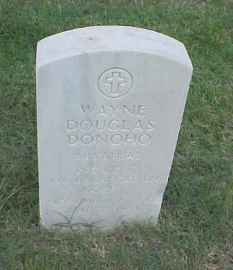 DONOHO (VETERAN KOR), WAYNE DOUGLAS - Pulaski County, Arkansas   WAYNE DOUGLAS DONOHO (VETERAN KOR) - Arkansas Gravestone Photos