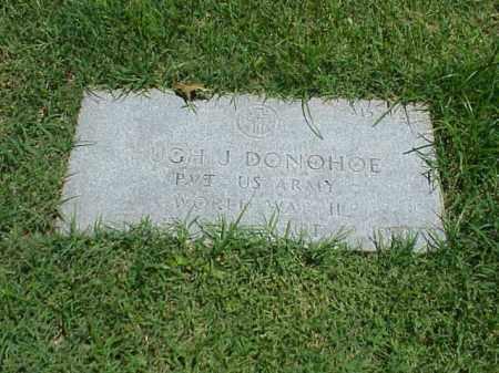 DONOHOE (VETERAN WWII), HUGH J - Pulaski County, Arkansas   HUGH J DONOHOE (VETERAN WWII) - Arkansas Gravestone Photos