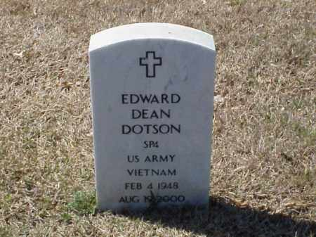 DOTSON  (VETERAN VIET), EDWARD DEAN - Pulaski County, Arkansas | EDWARD DEAN DOTSON  (VETERAN VIET) - Arkansas Gravestone Photos