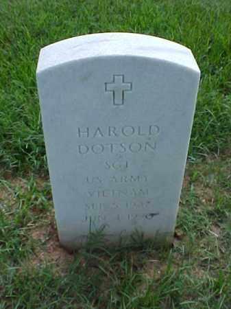 DOTSON (VETERAN VIET), HAROLD - Pulaski County, Arkansas | HAROLD DOTSON (VETERAN VIET) - Arkansas Gravestone Photos