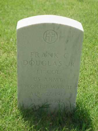 DOUGLAS, JR (VETERAN WWII), FRANK C - Pulaski County, Arkansas   FRANK C DOUGLAS, JR (VETERAN WWII) - Arkansas Gravestone Photos