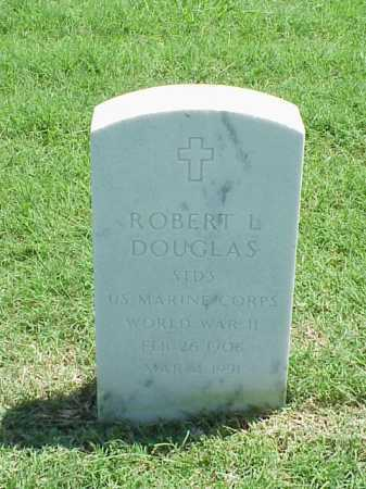 DOUGLAS (VETERAN WWII), ROBERT L - Pulaski County, Arkansas | ROBERT L DOUGLAS (VETERAN WWII) - Arkansas Gravestone Photos