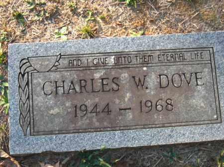DOVE, CHARLES W. - Pulaski County, Arkansas | CHARLES W. DOVE - Arkansas Gravestone Photos