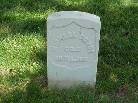 DOWDS (VETERAN UNION), MICHAEL - Pulaski County, Arkansas | MICHAEL DOWDS (VETERAN UNION) - Arkansas Gravestone Photos