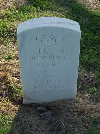 DOWNING (VETERAN VIET), GLEN A - Pulaski County, Arkansas | GLEN A DOWNING (VETERAN VIET) - Arkansas Gravestone Photos