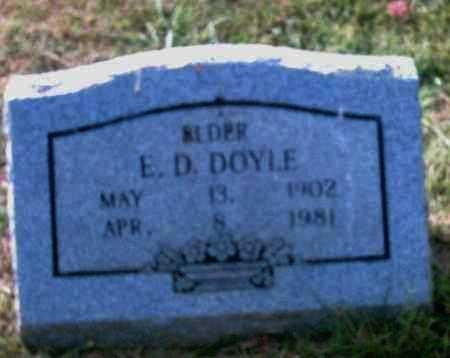 DOYLE, ELDER, E. D. - Pulaski County, Arkansas | E. D. DOYLE, ELDER - Arkansas Gravestone Photos